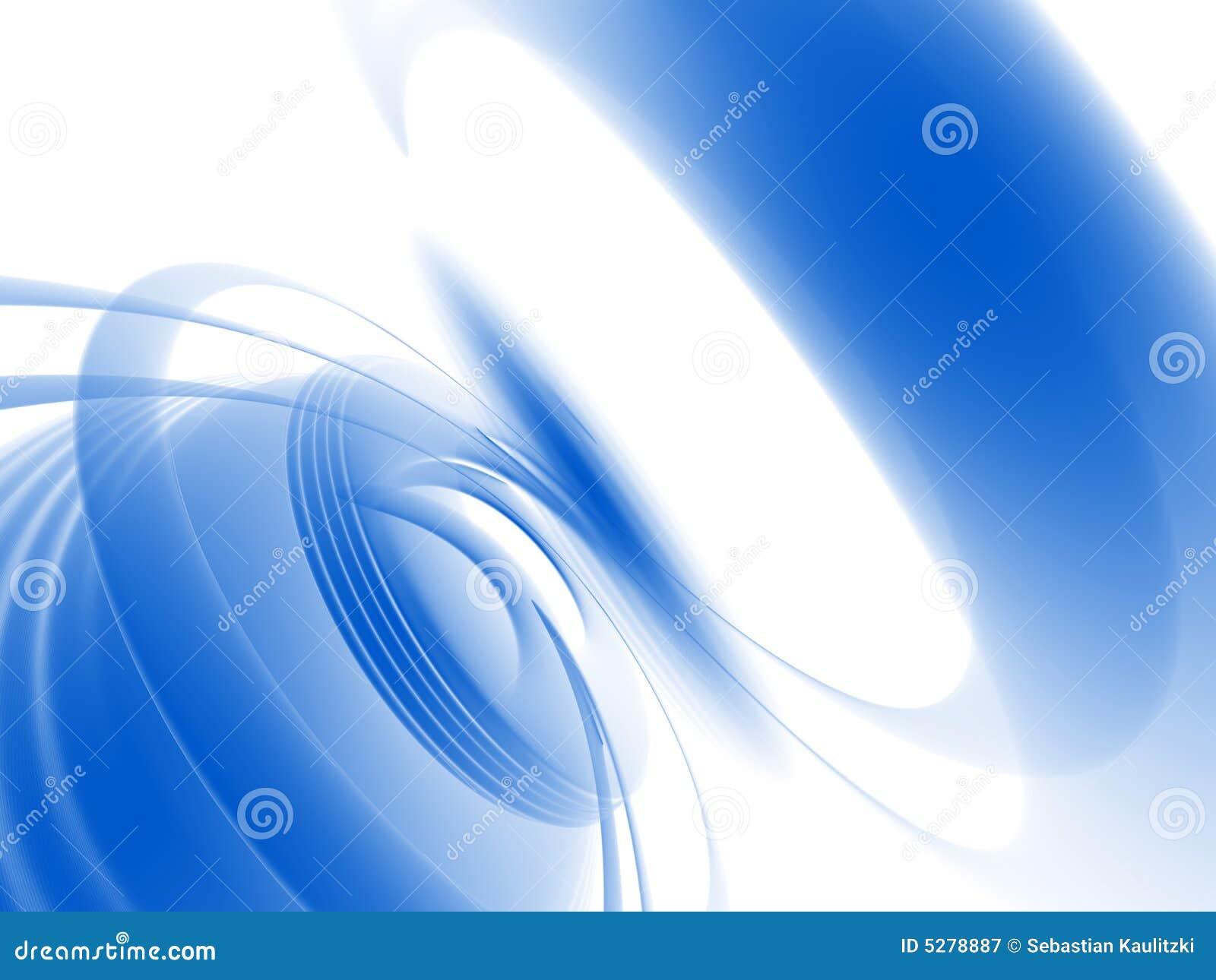 Redemoinho azul abstrato