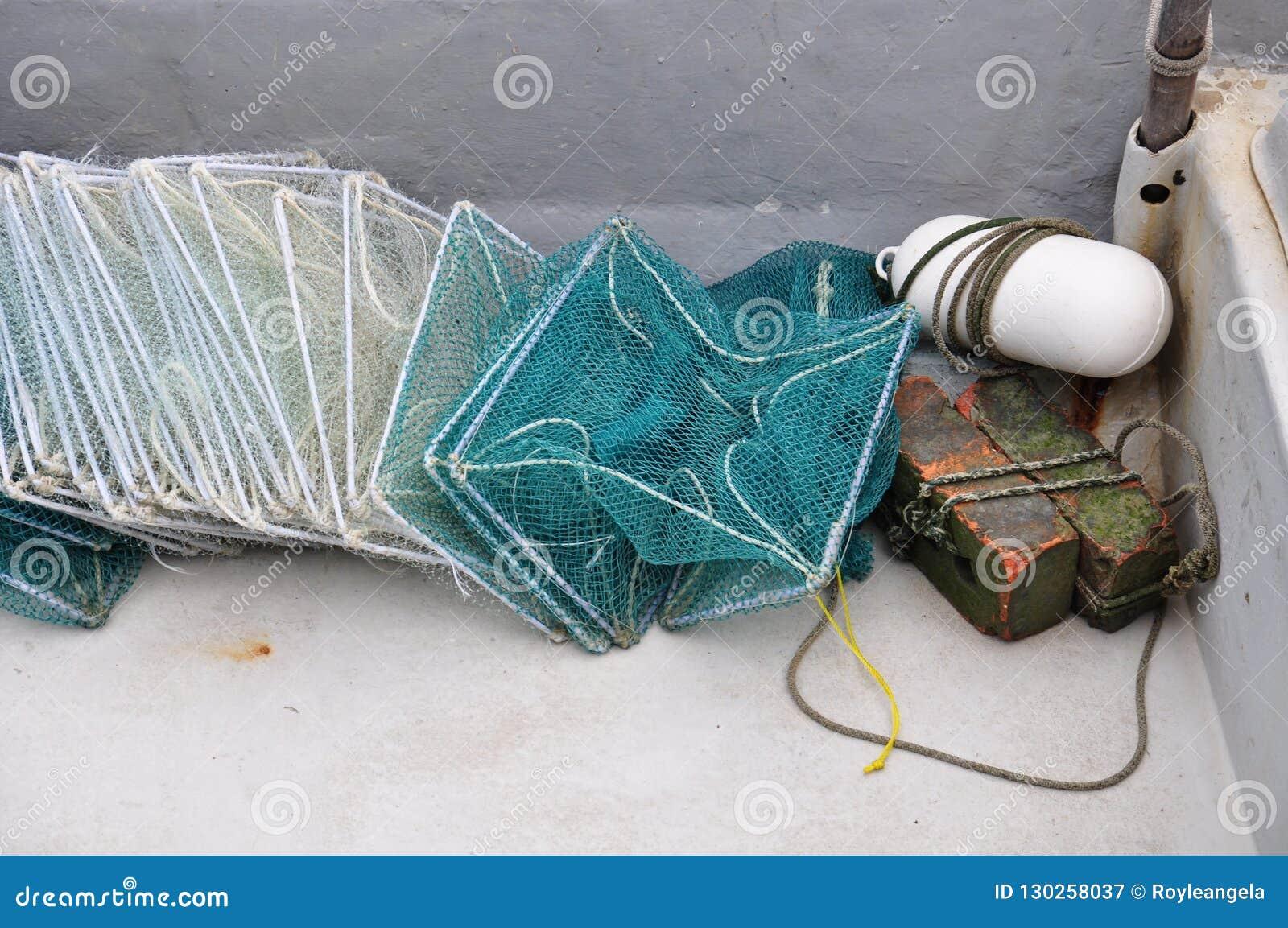 Redes de pesca modernas