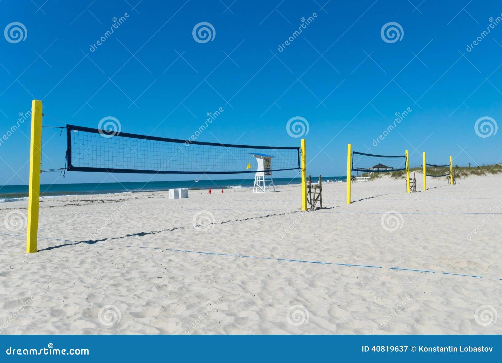 3f1c71ff7 Redes do voleibol de praia imagem de stock. Imagem de aptidão - 40819637