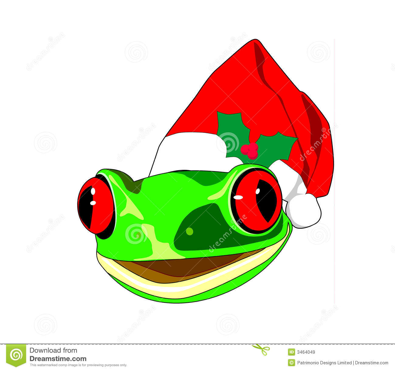 Christmas Frog Stock Photos, Images, & Pictures - 430 Images