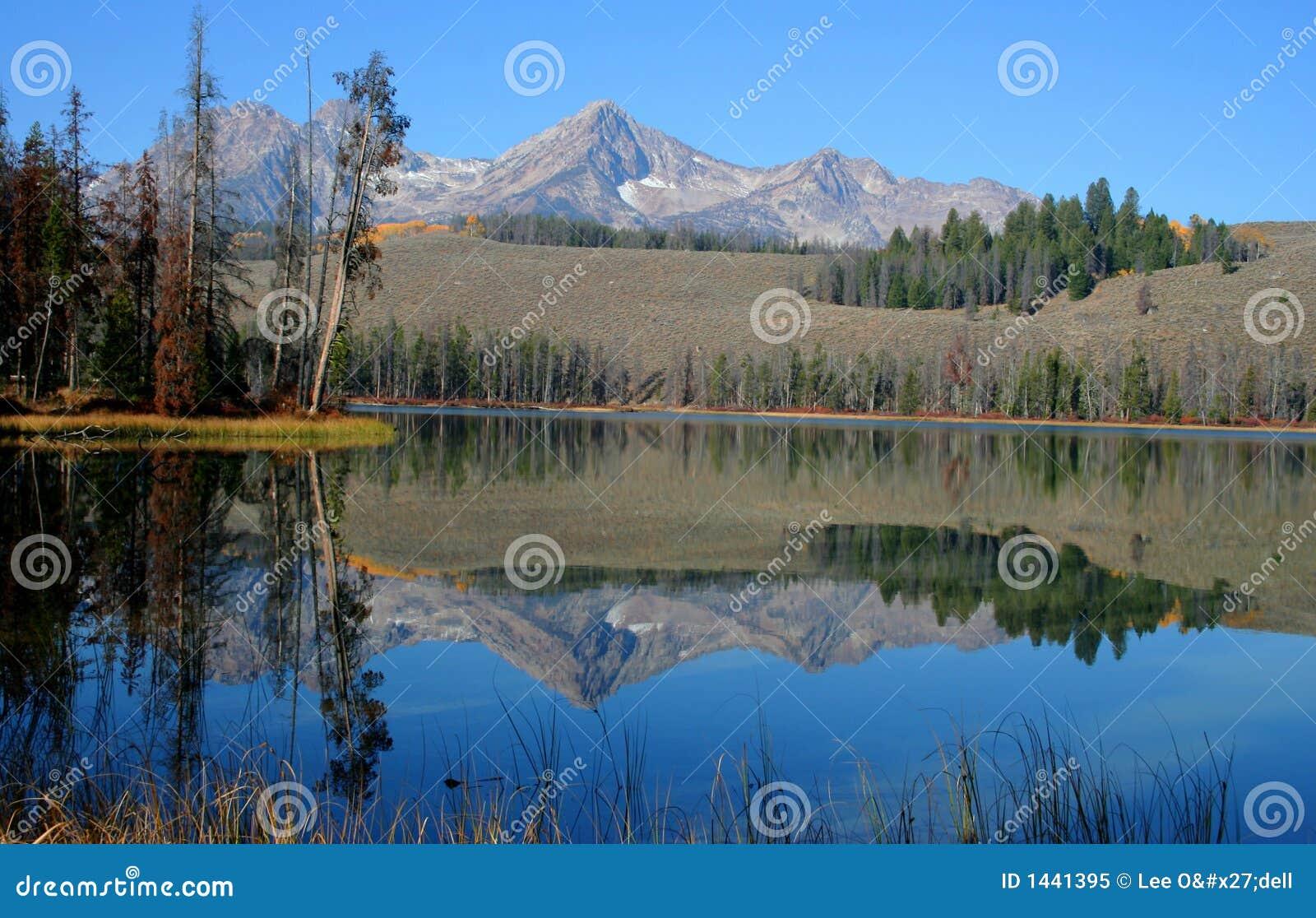 Redfish озера маленькие