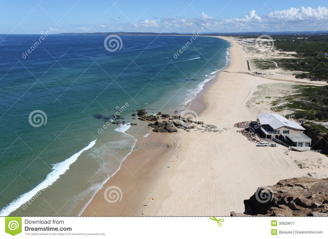 Redhead Australia  city images : sunny day at Redhead Beach Newcastlle Australia. Newcastle region ...