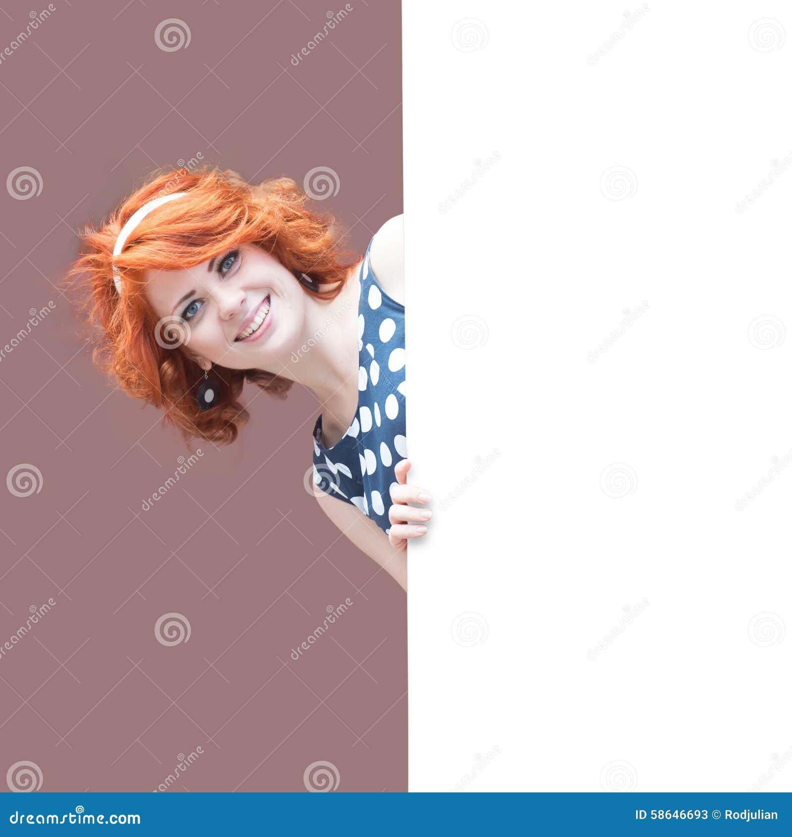 Redheaded Mädchen