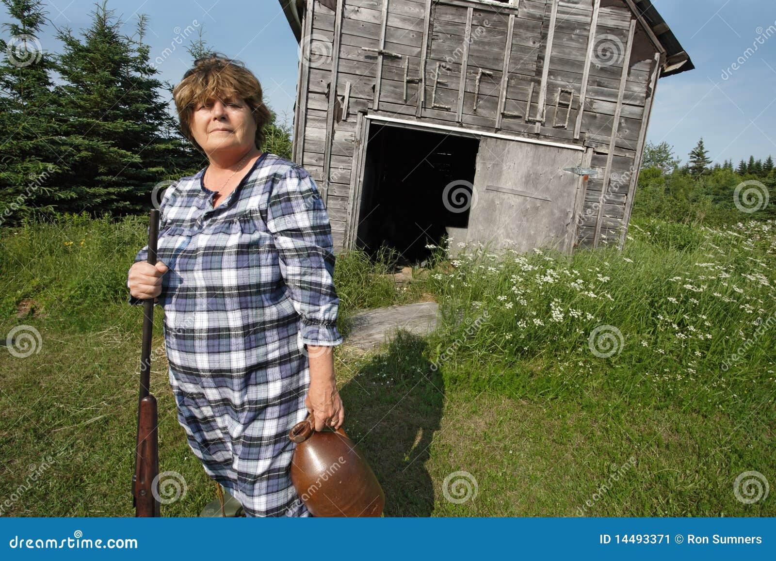redneck women with guns