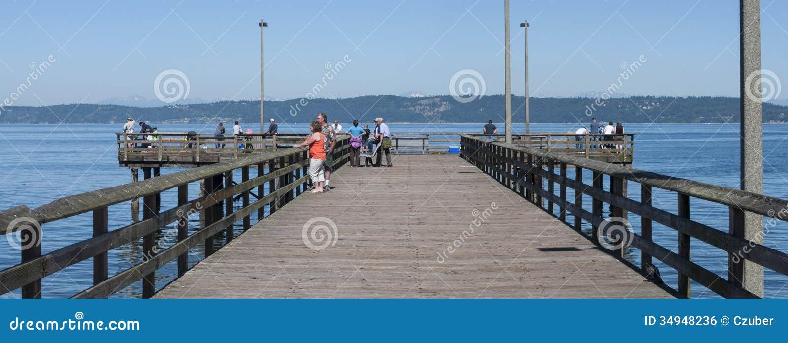 Redondo beach pier editorial photo image 34948236 for Redondo beach pier fishing