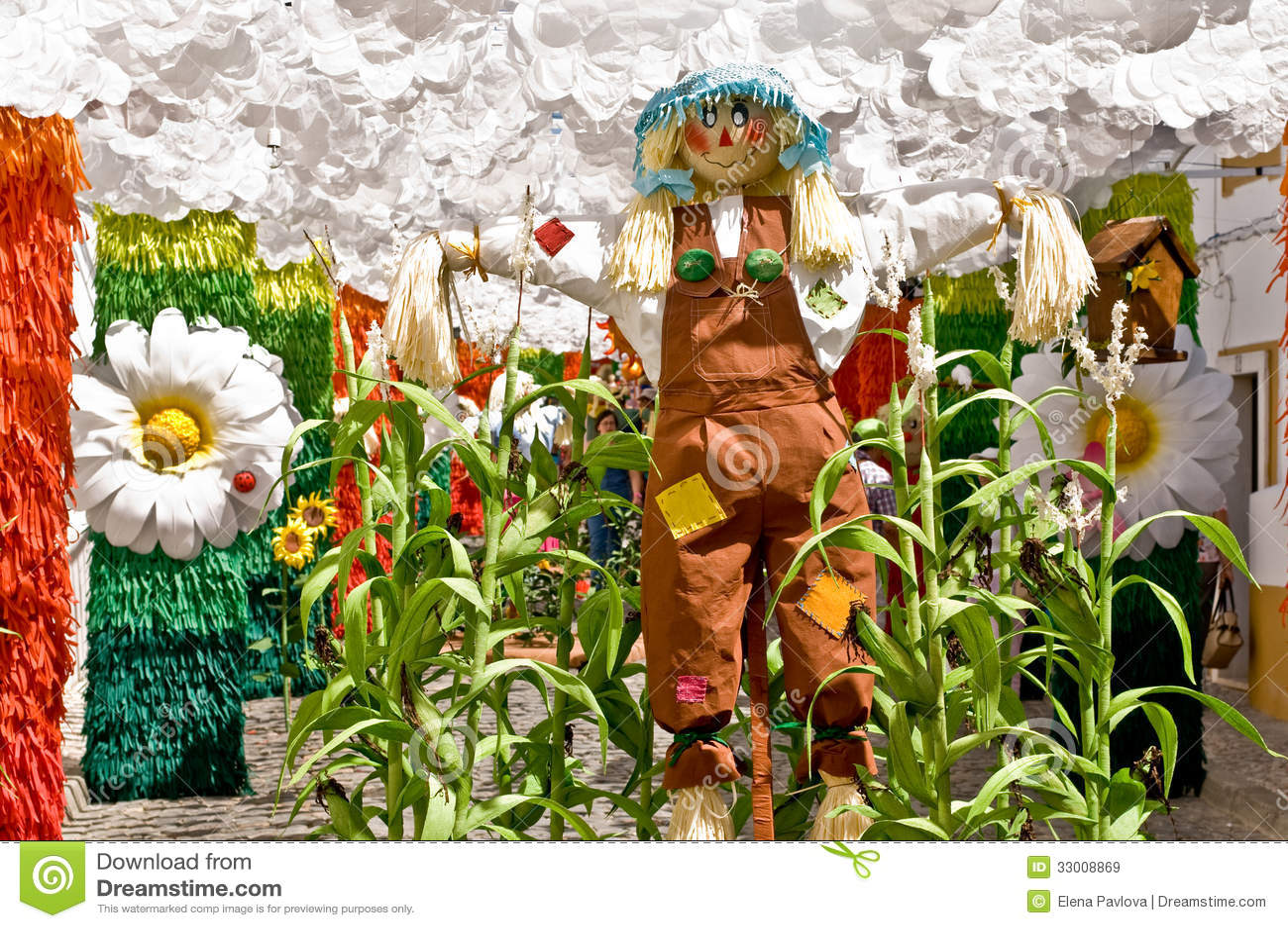 Redondo Portugal 10 En Aout 2013 Fleur De Festival Dans Des Rues