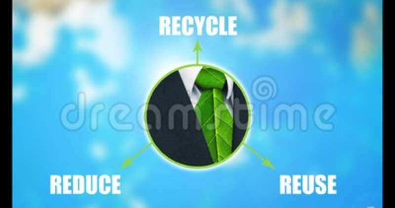 Reduce Reuse Recycle Graphic Animation Stock Video Video Of