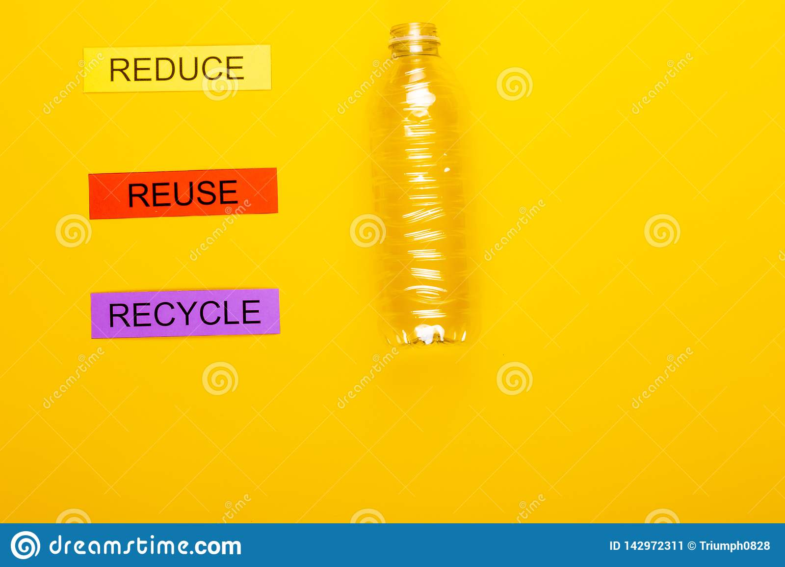 Reduce waste products stock image  Image of trash, reuse