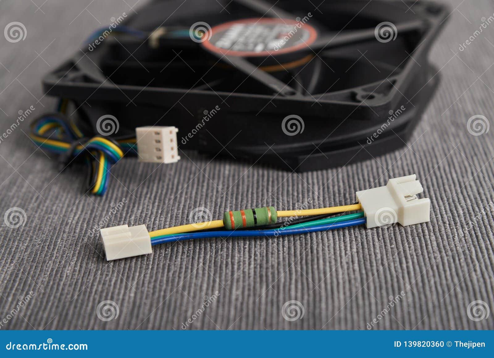 Reduzca el cable del resistor del ruido de la velocidad