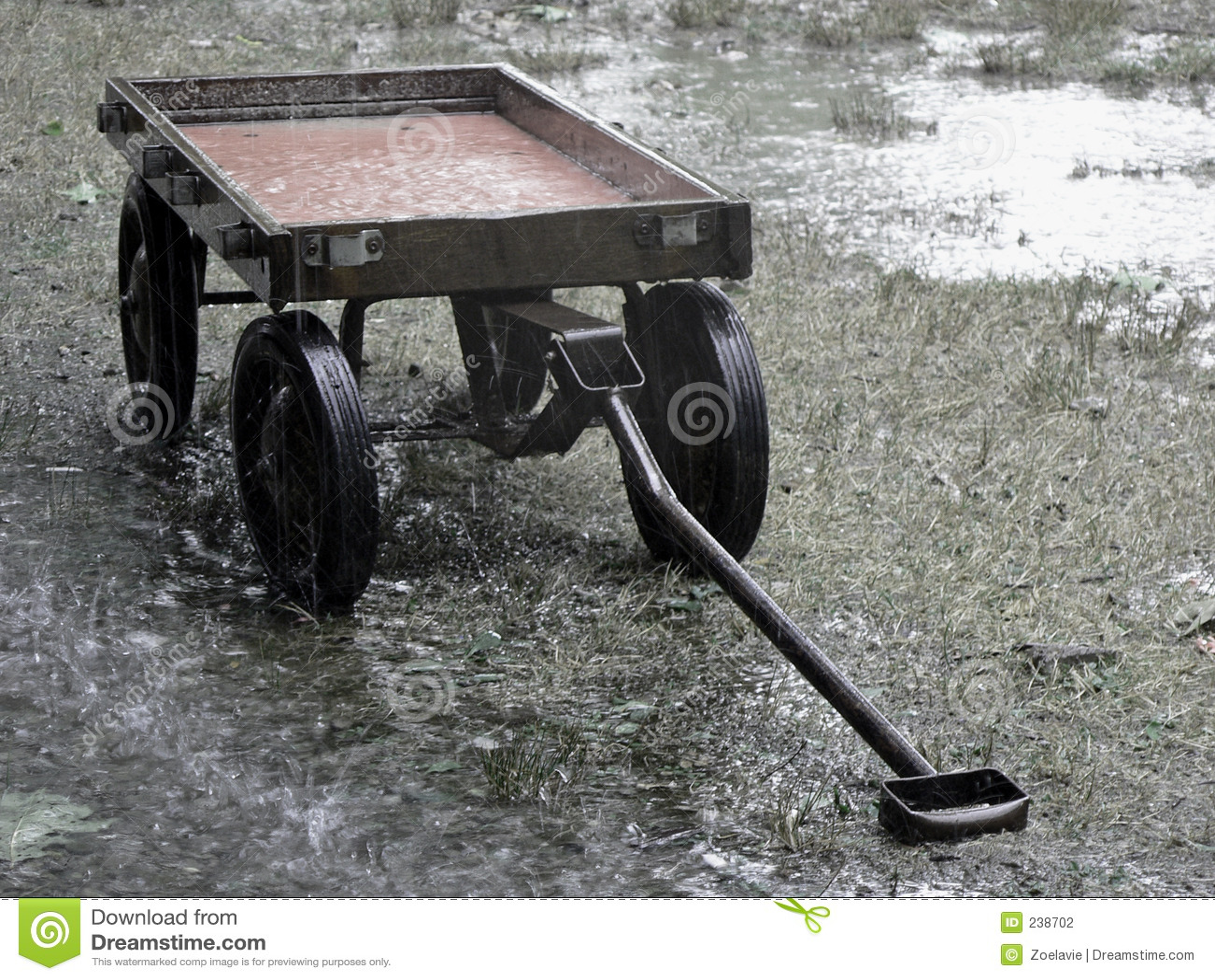 Redvagn för regn 2