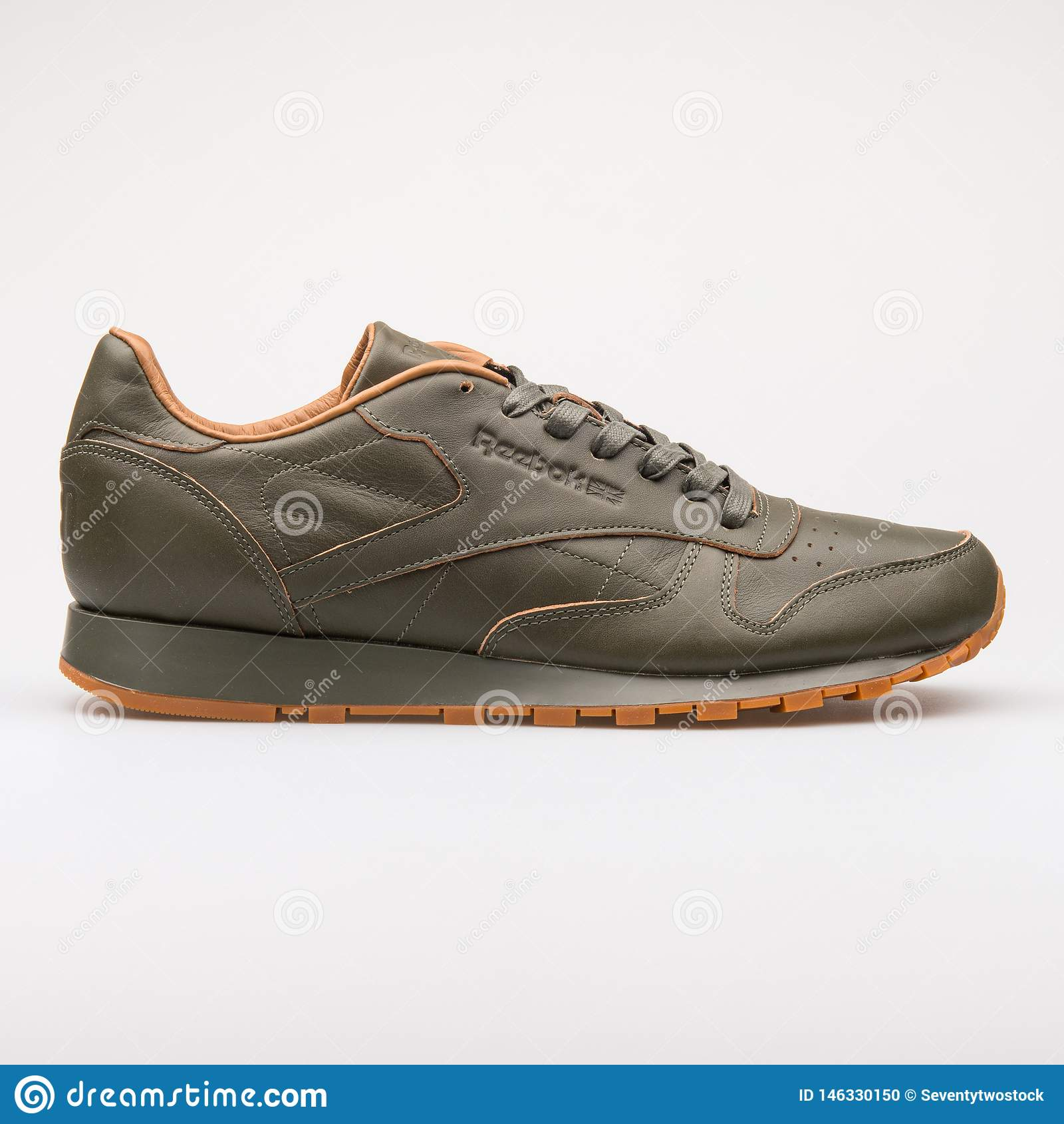 d1c27456 Reebok Classic Leather Lux Kendrick Green Sneaker Editorial Image ...
