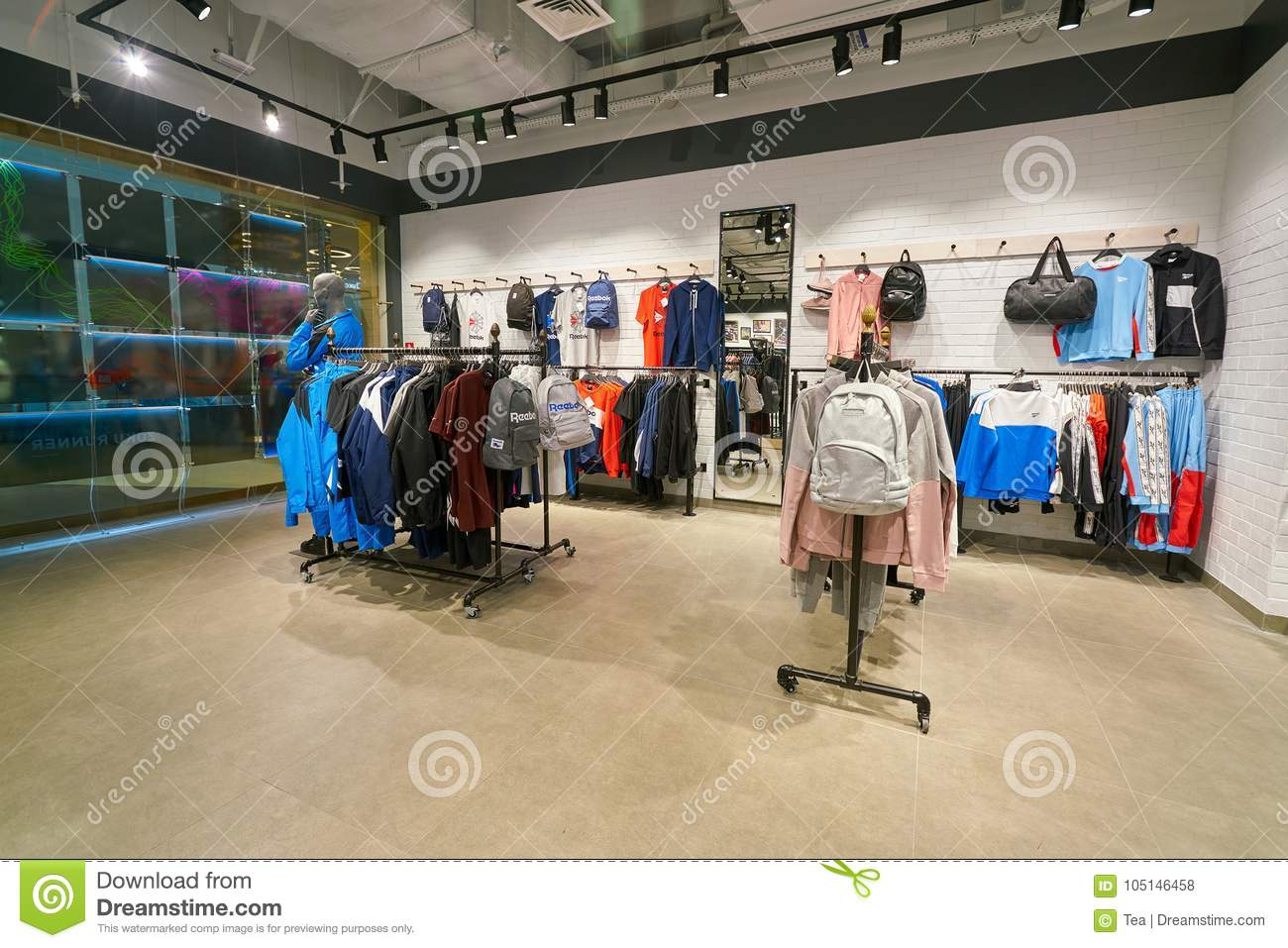 big collection shop for newest search for clearance Reebok Classic editorial stock photo. Image of colour ...