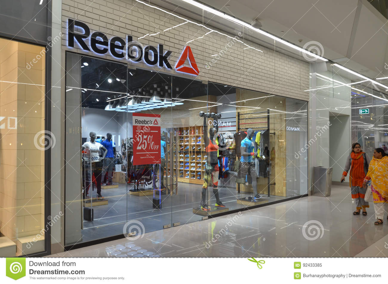 Reebok Shop In Emporium Mall Lahore Pakistan On 6th May