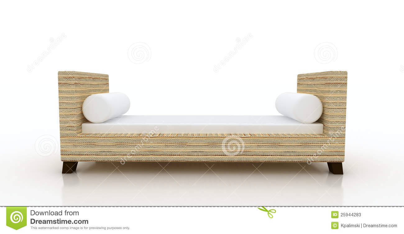 Reed Arm Bench chaise lounge  sc 1 st  Dreamstime.com : chaise lounge bench - Sectionals, Sofas & Couches
