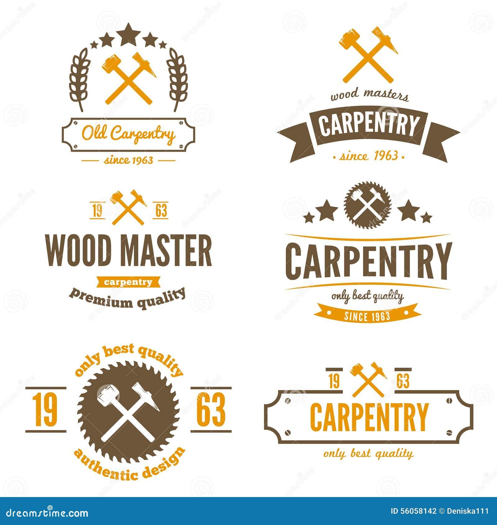 Reeks embleem, etiket, kenteken en logotype elementen