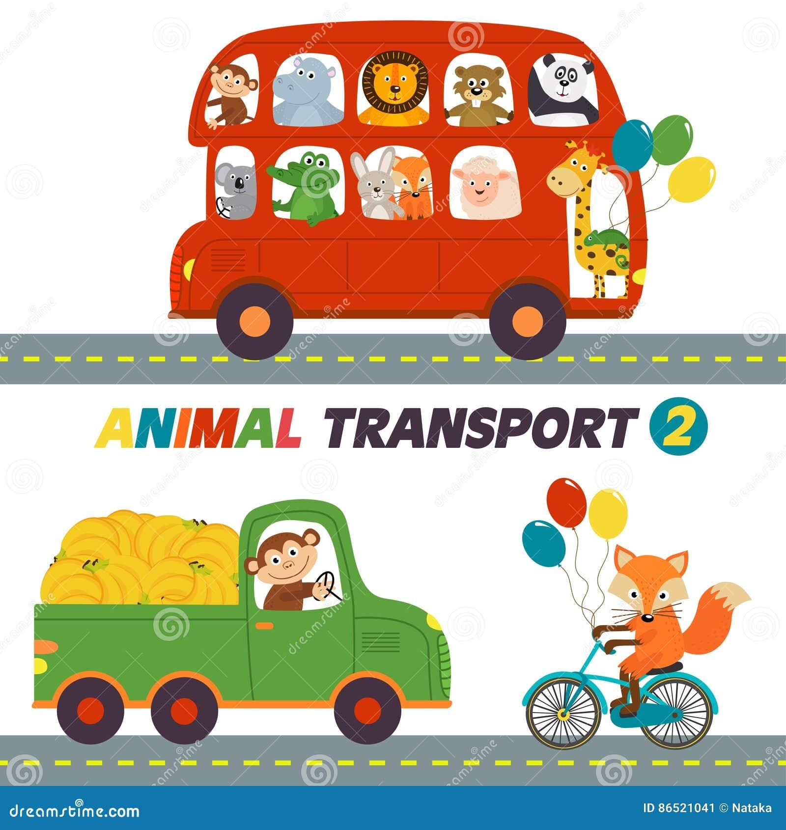 Reeks geïsoleerde transporten met dierendeel 2