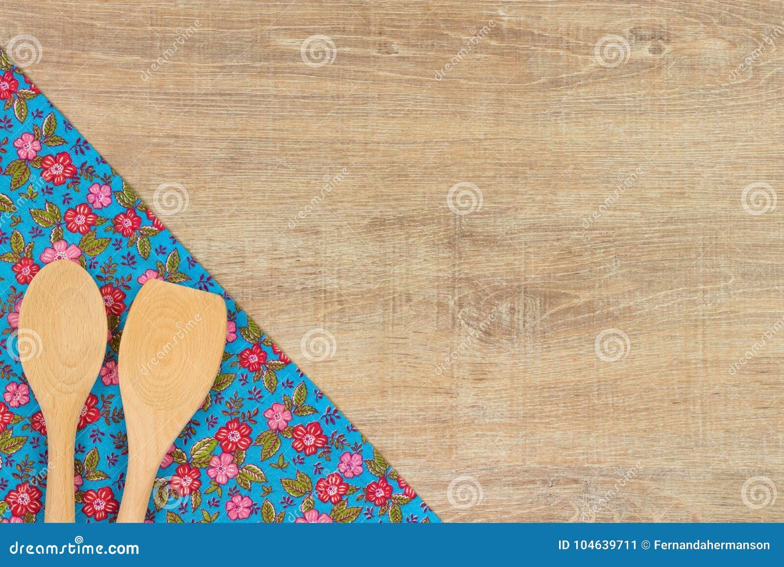 Download Reeks houten keukengerei stock afbeelding. Afbeelding bestaande uit picknick - 104639711