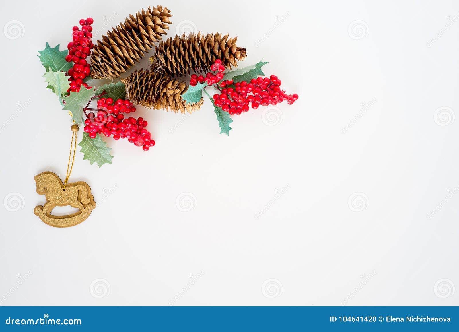 Download Reeks Kerstmisdingen stock foto. Afbeelding bestaande uit patroon - 104641420