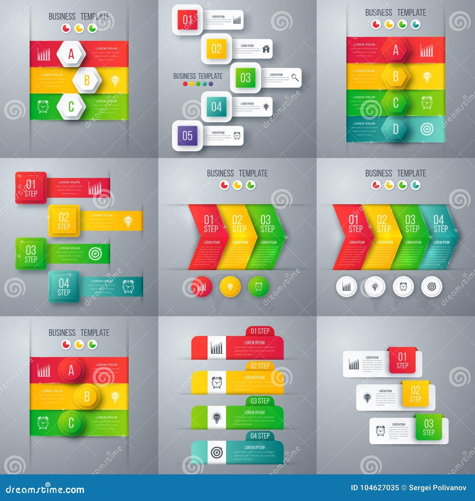 Download Reeks met infographics vector illustratie. Illustratie bestaande uit out - 104627035