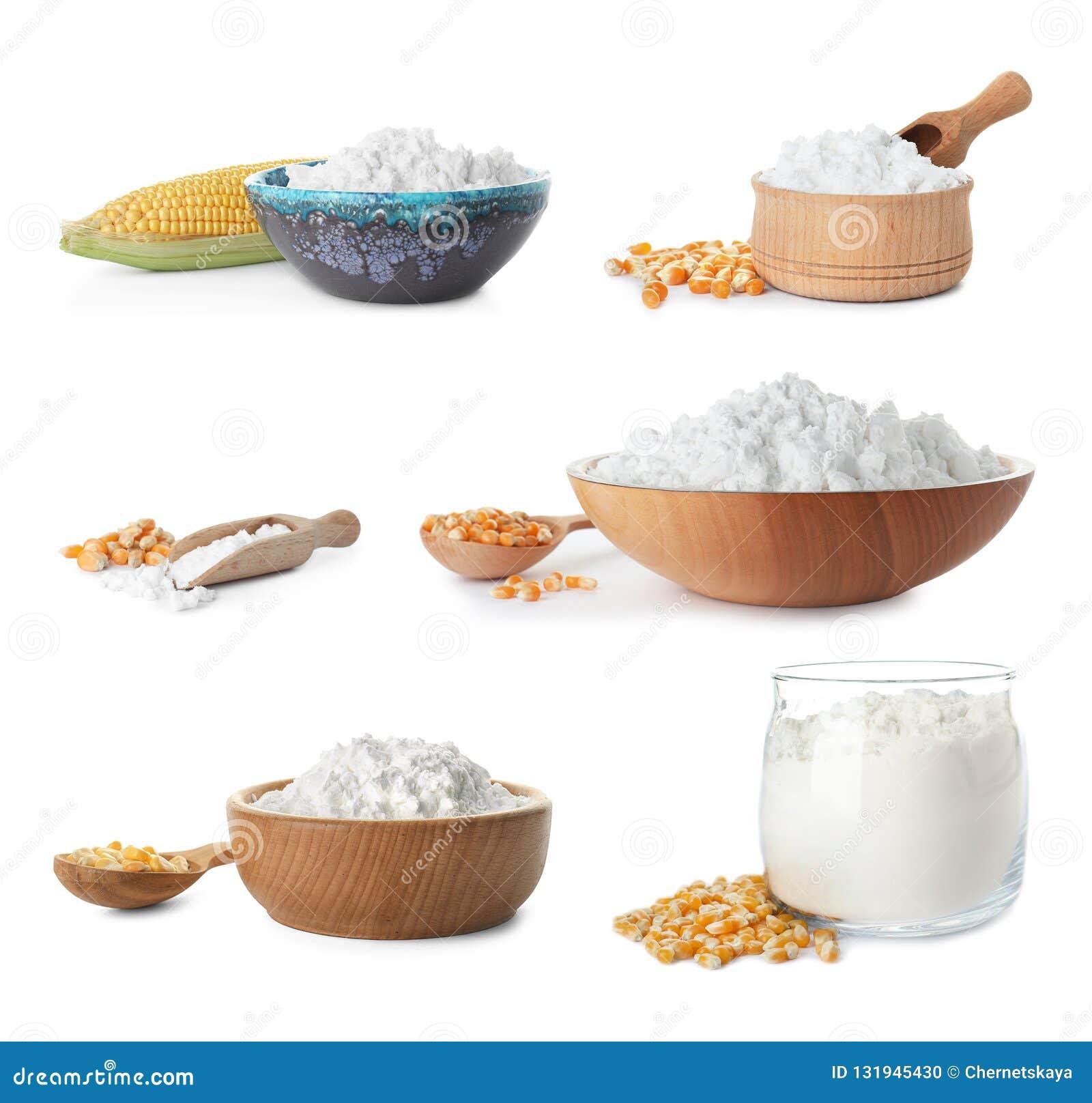 Reeks met maïszetmeel en pitten