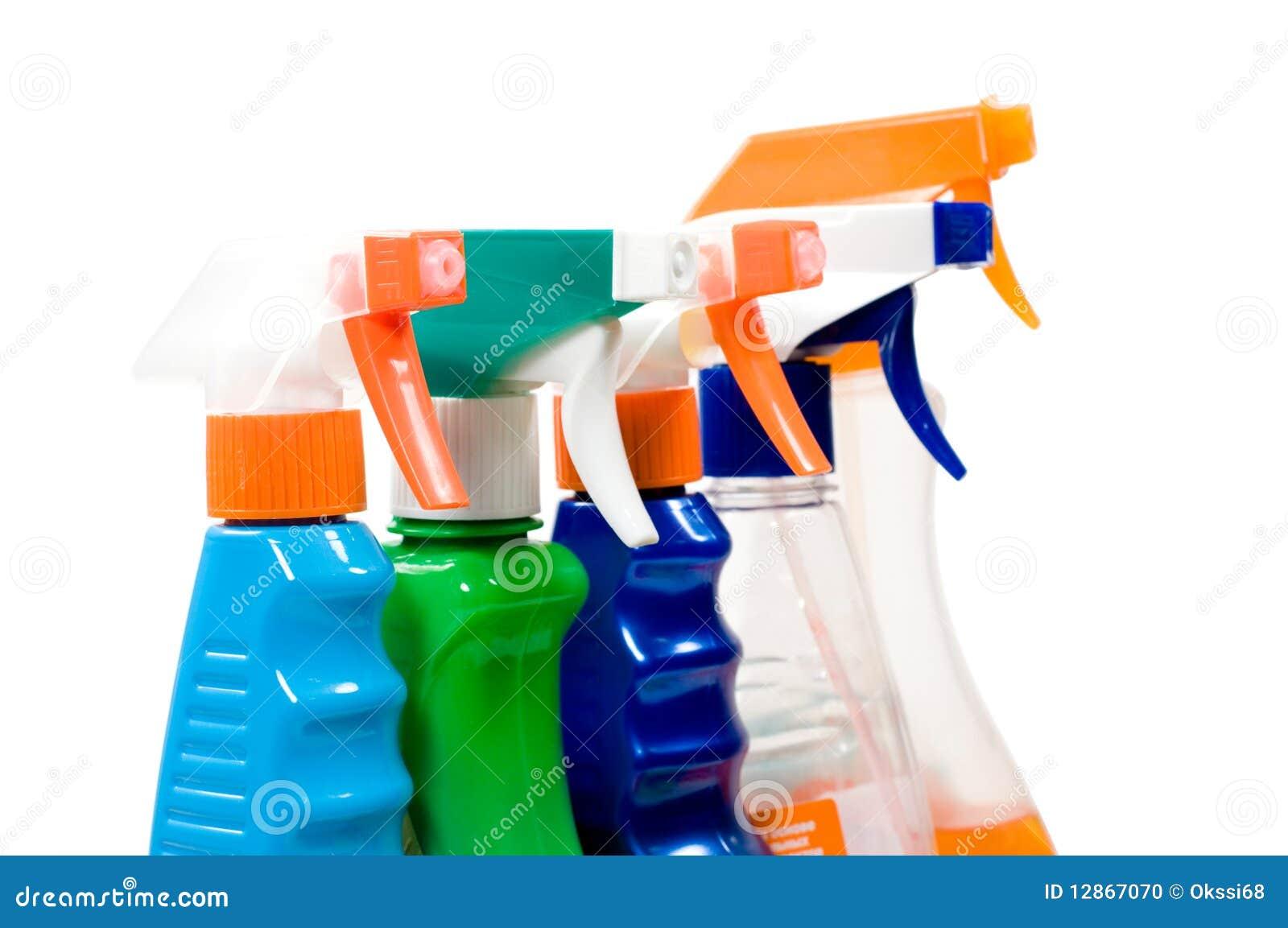 Reeks nevels voor het schoonmaken.
