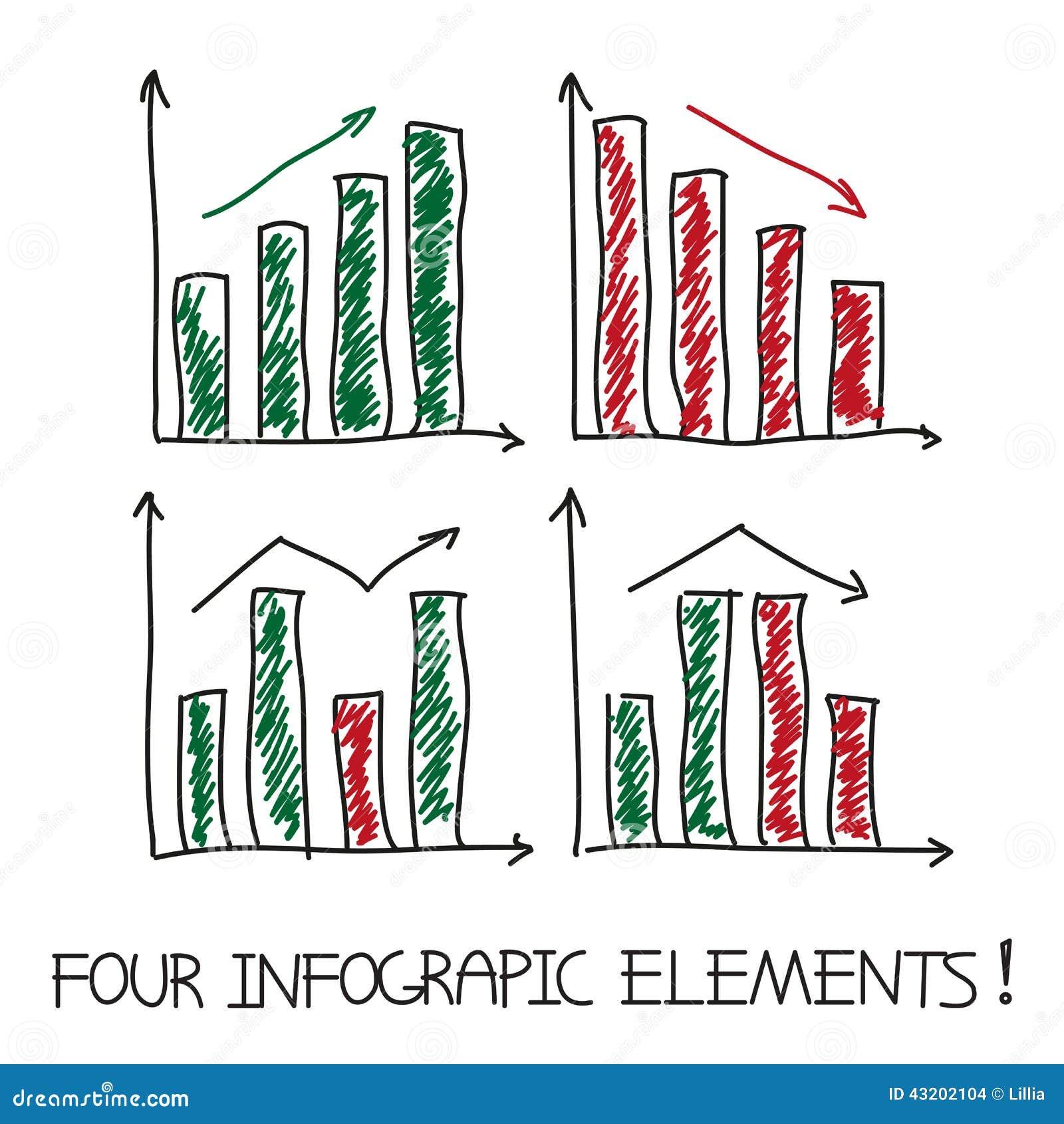 Reeks van onze infographic elementen