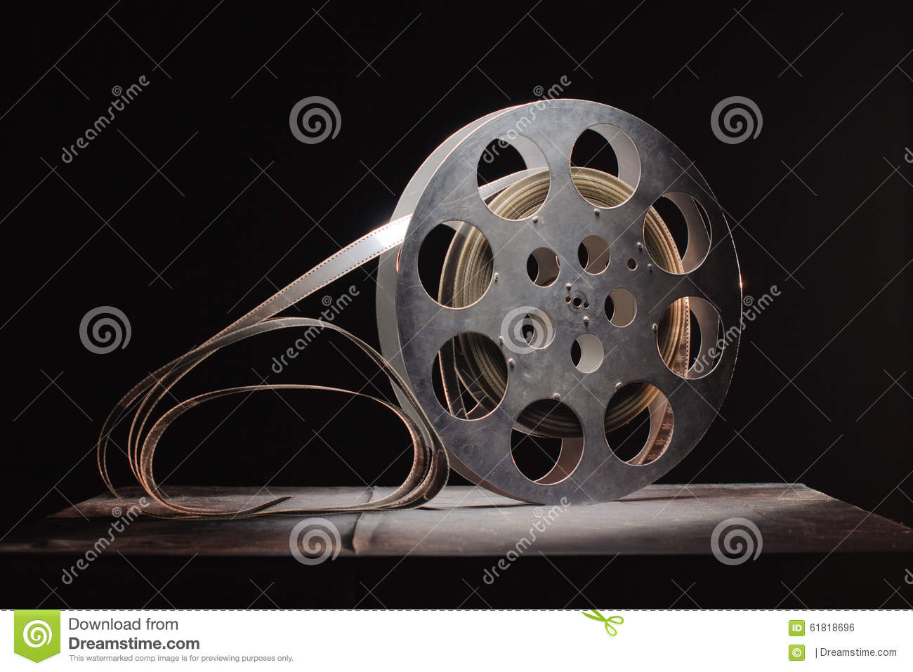 Reel Of Film Stock Illustration - Image: 61818696