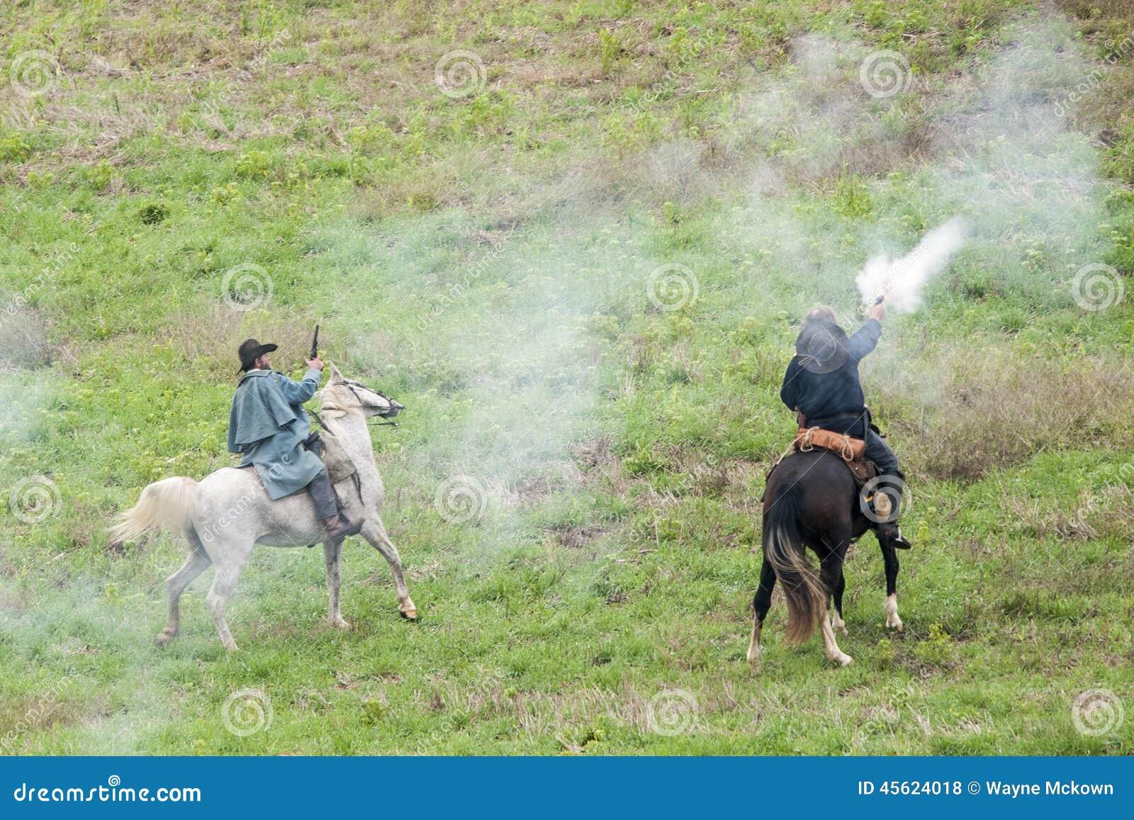 Reenactment da guerra civil