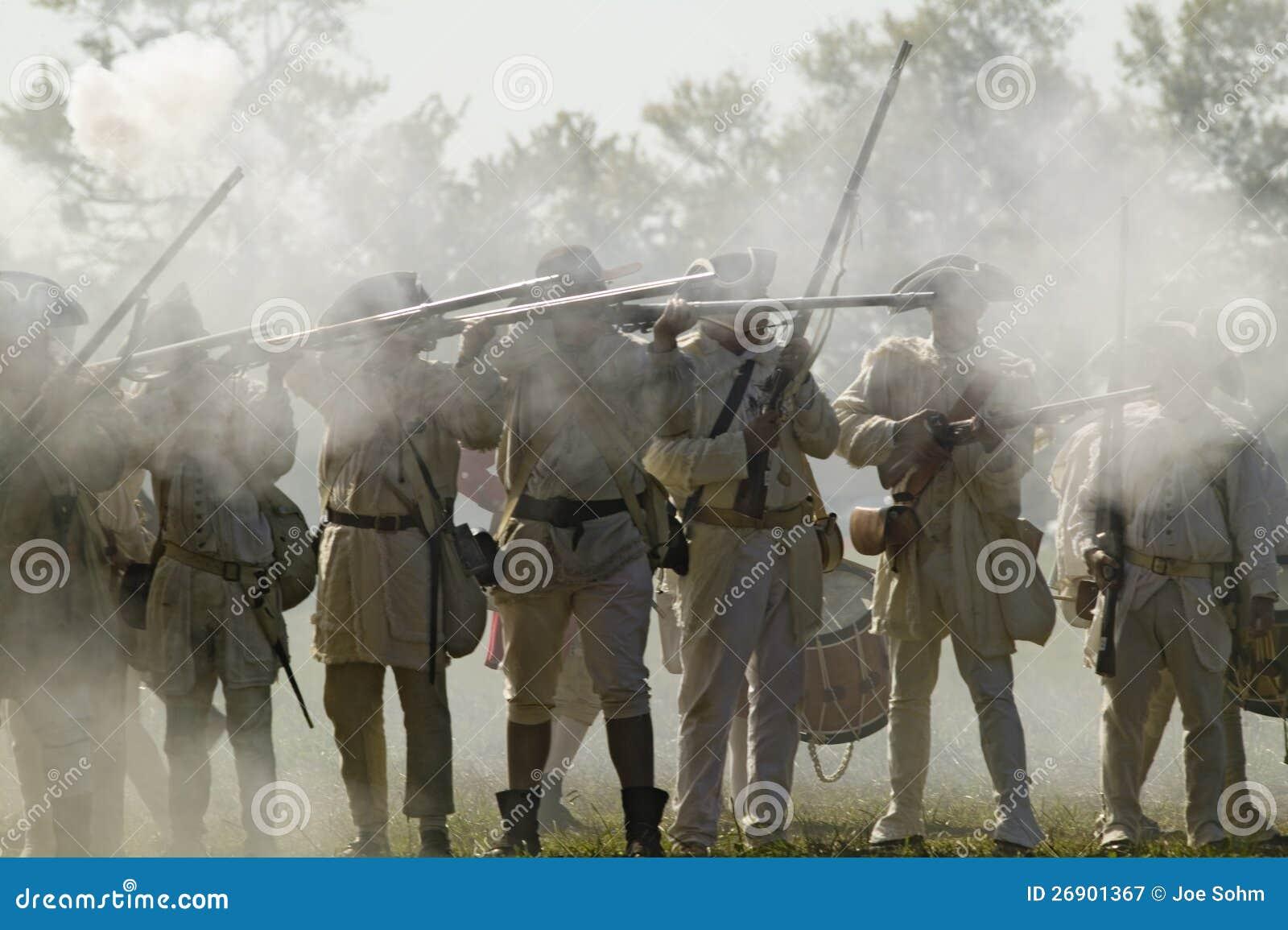 Reenactment do ataque nos Redoubts 9 & 10