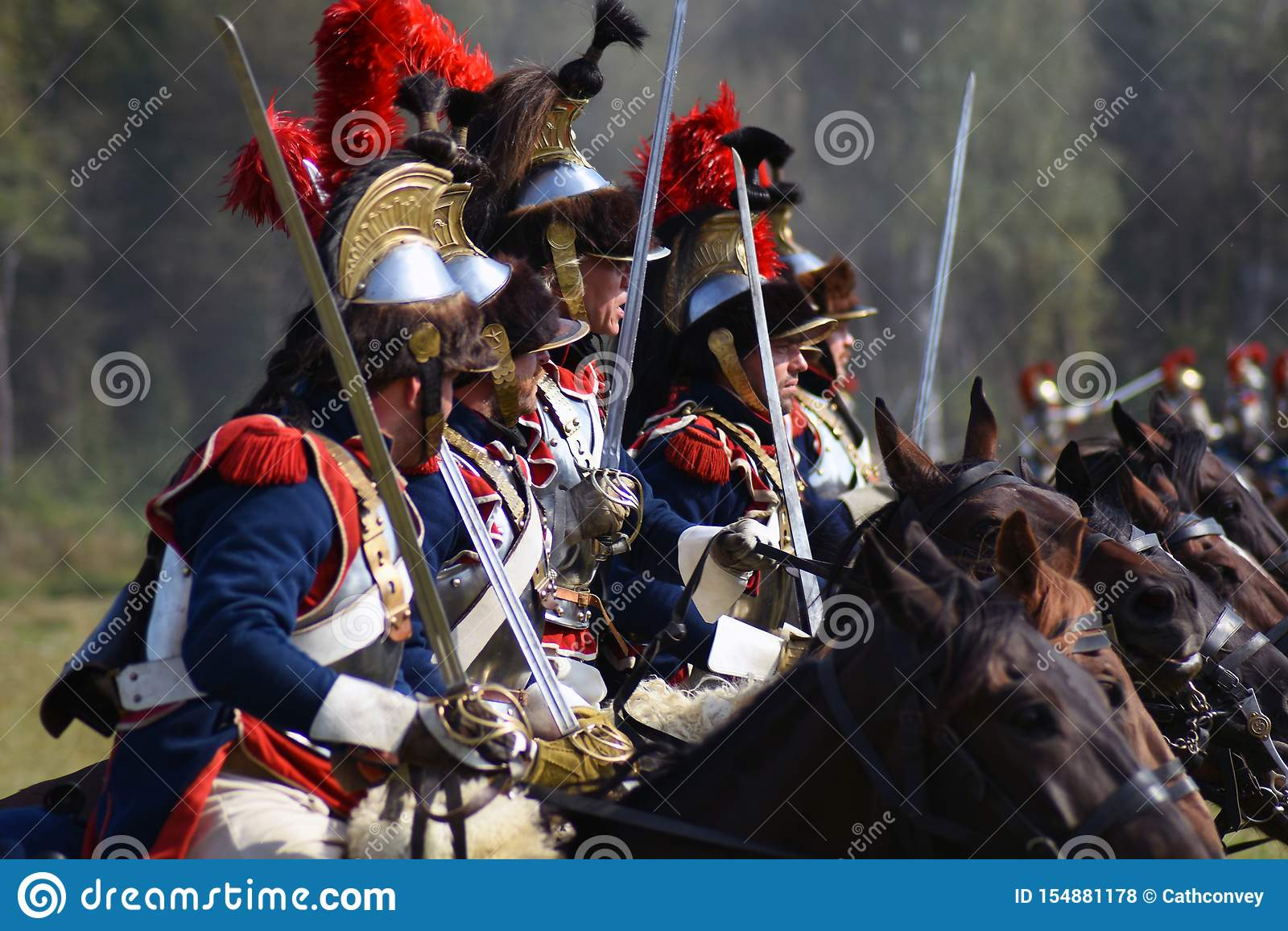 Reenactors ? la reconstitution historique de bataille de Borodino en Russie