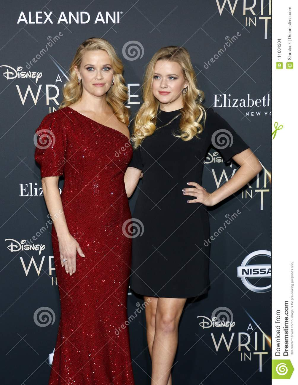 Reese Witherspoon och Ava Phillippe