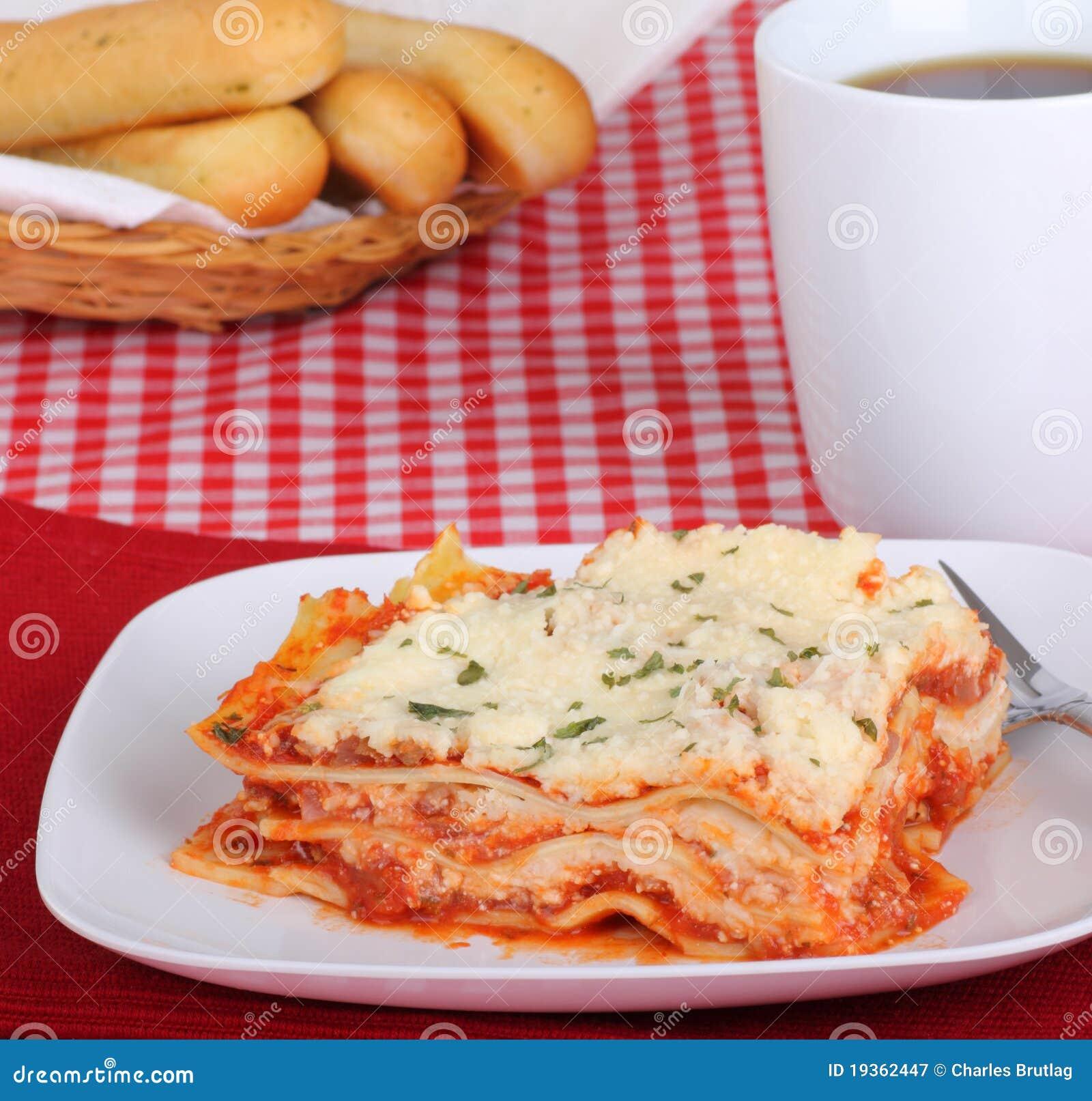 Refeição do Lasagna