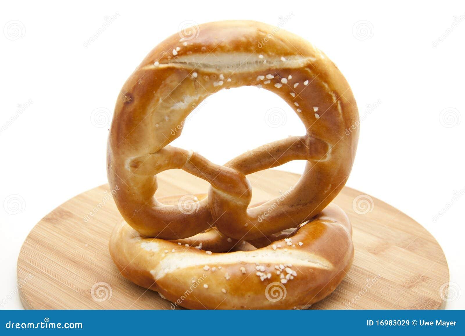 Refine el pretzel cocido al horno