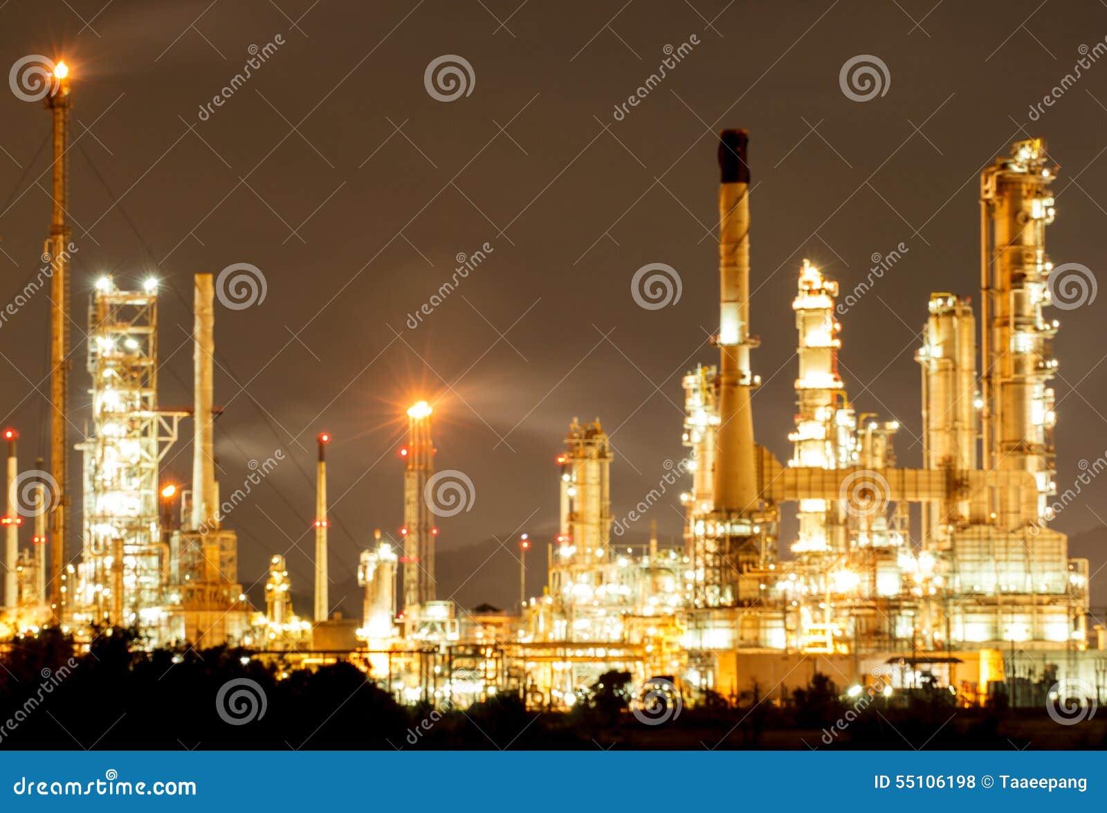 Refinería de petróleo en d3ia