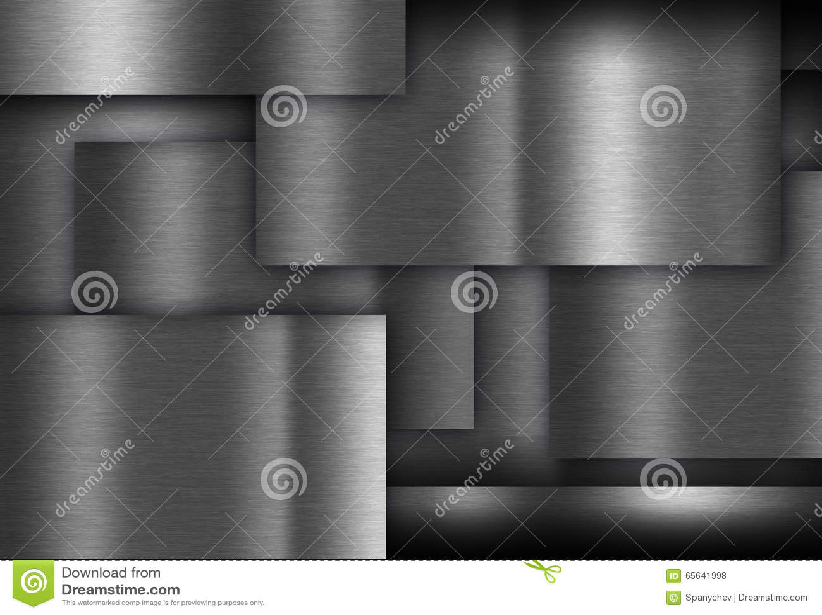 Reflétez le fond de texture en métal