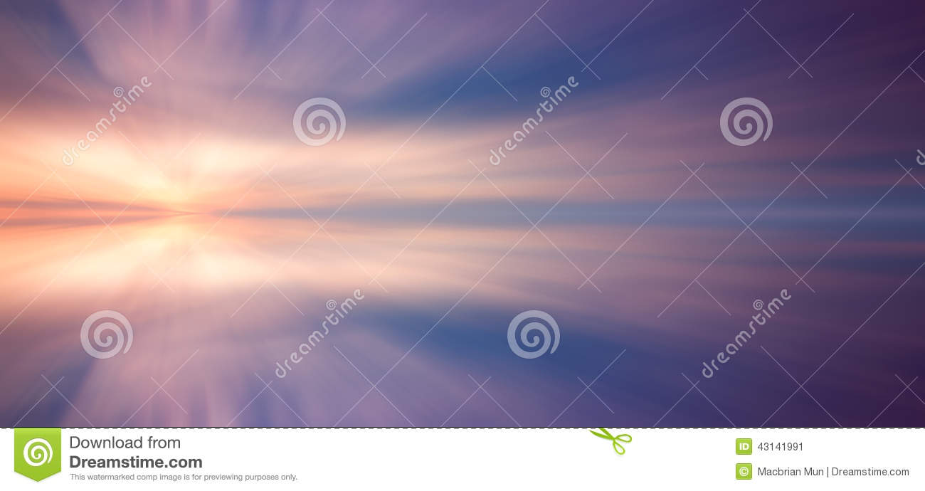 Download Reflection Of Clouds With Long Exposure Effect Stock Image - Image of long, evening: 43141991