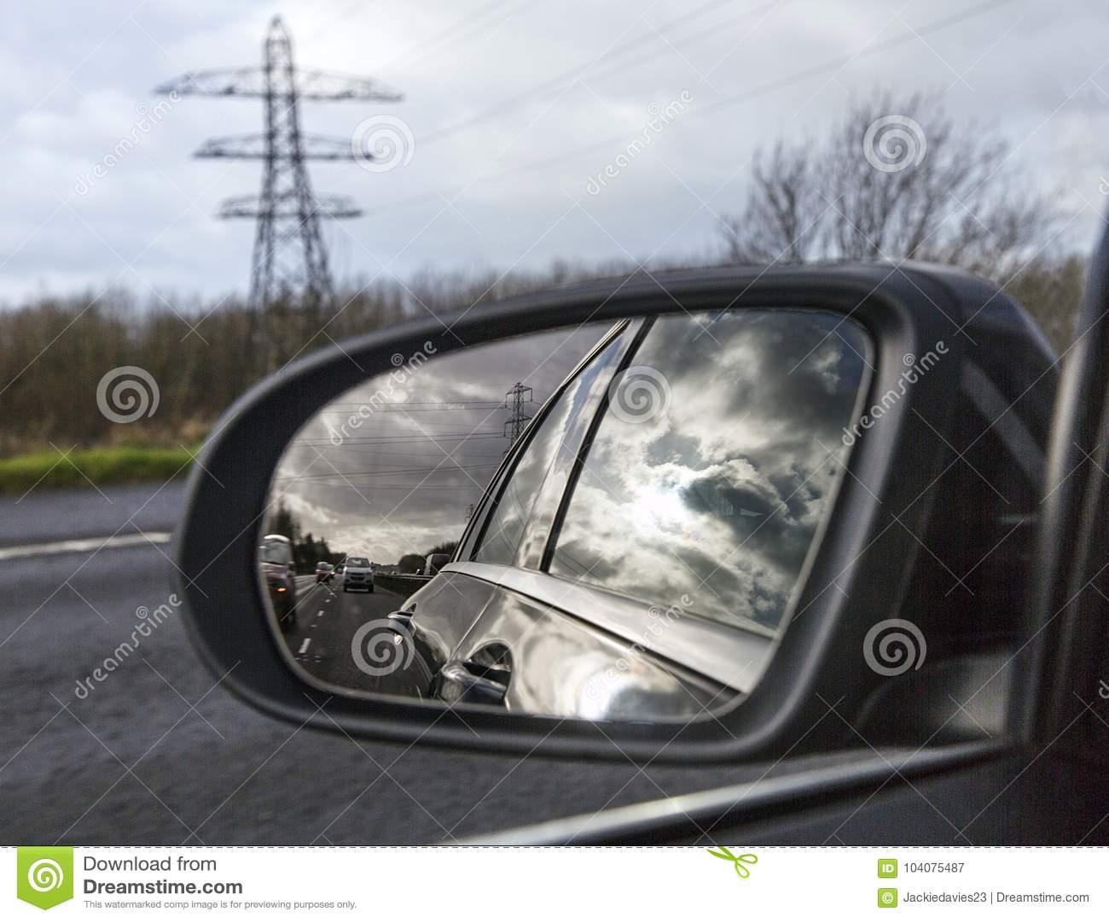 Motorway driving in UK