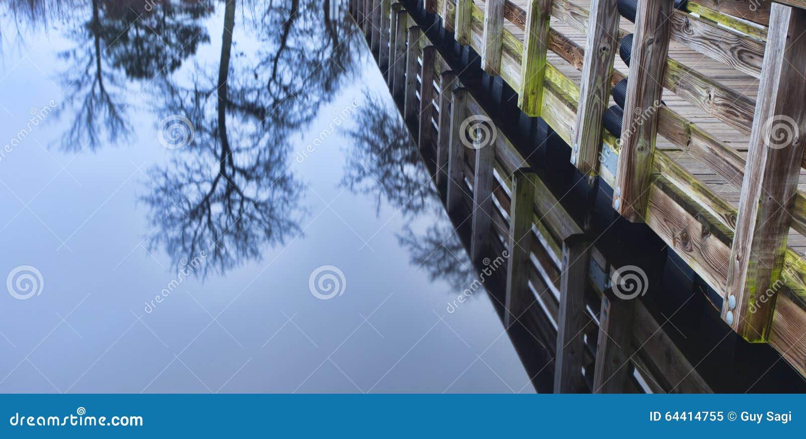 Reflection stock photo image 64414755 for Fishing docks near me