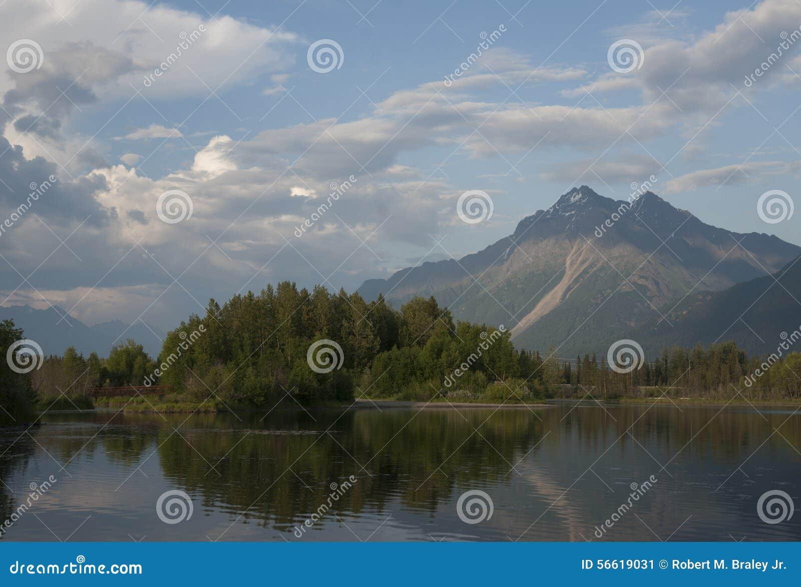Reflections Lake Palmer Alaska