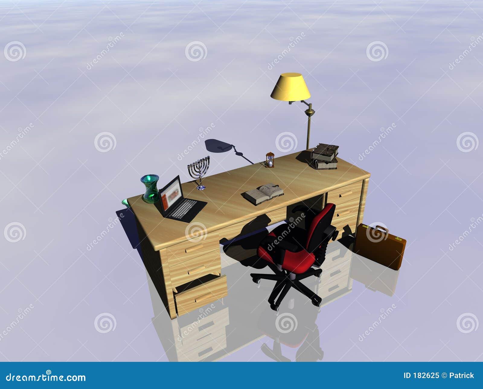 Reflejo del escritorio.