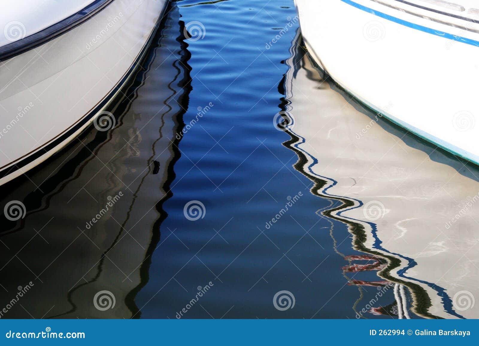 Refleksje łodzi