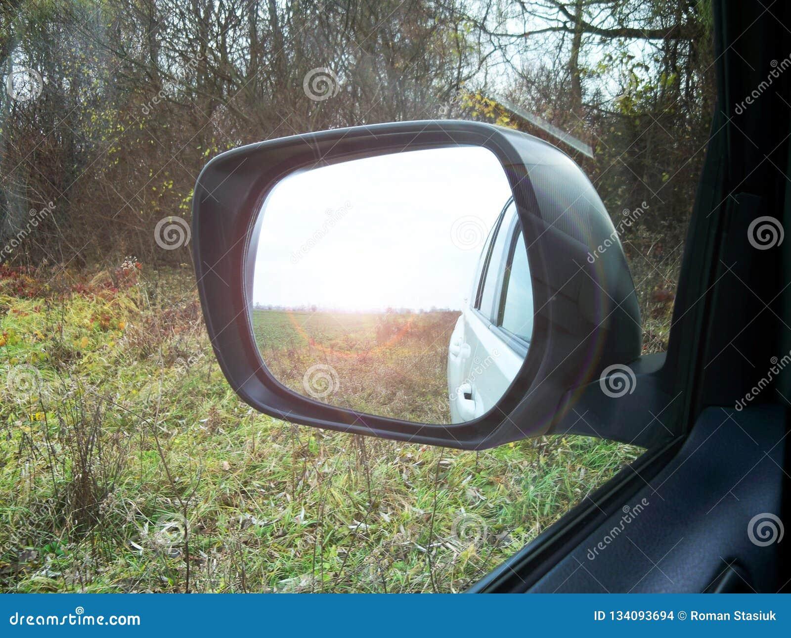 Reflekterat i en rearview