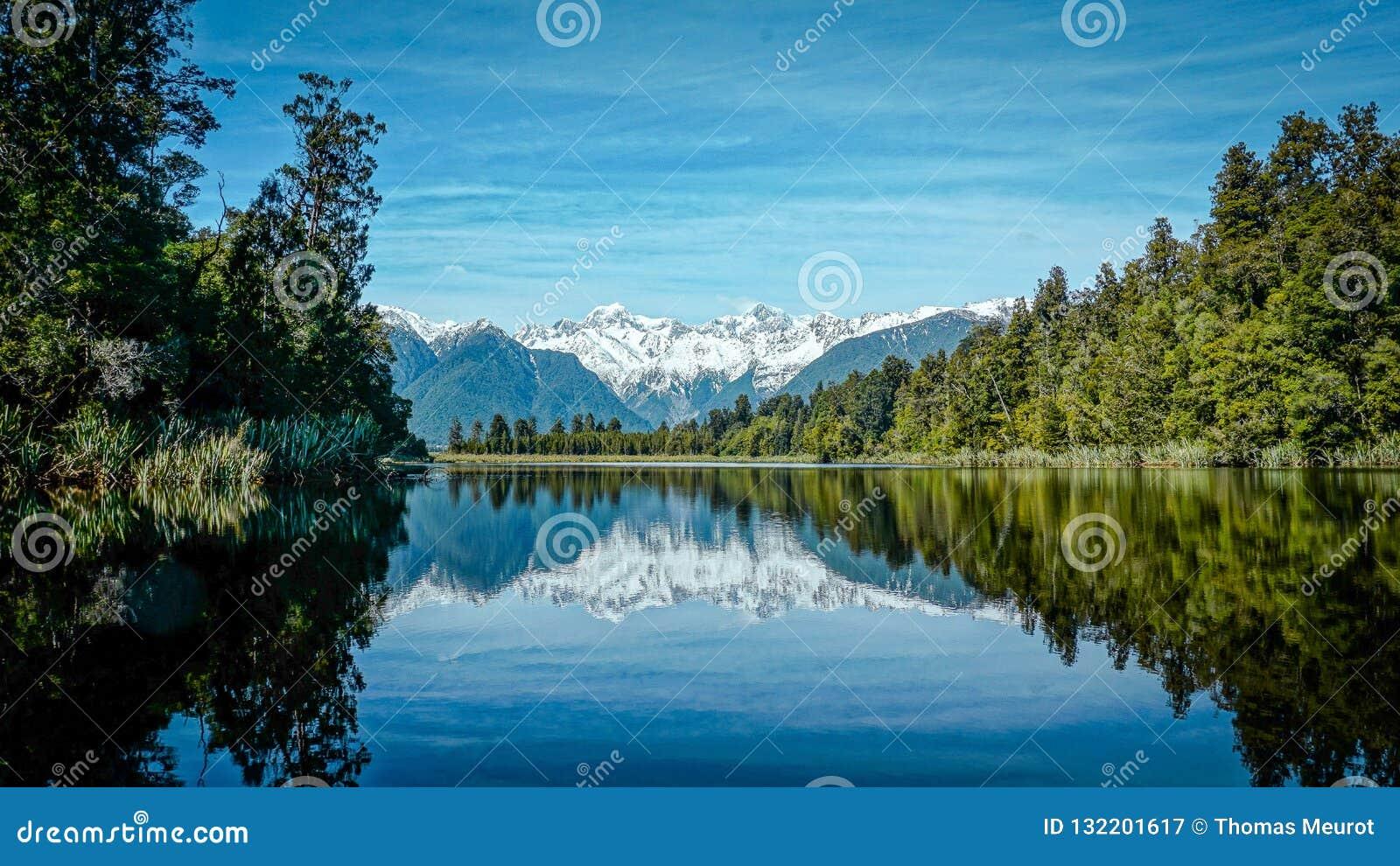 Reflexão do matheson do lago