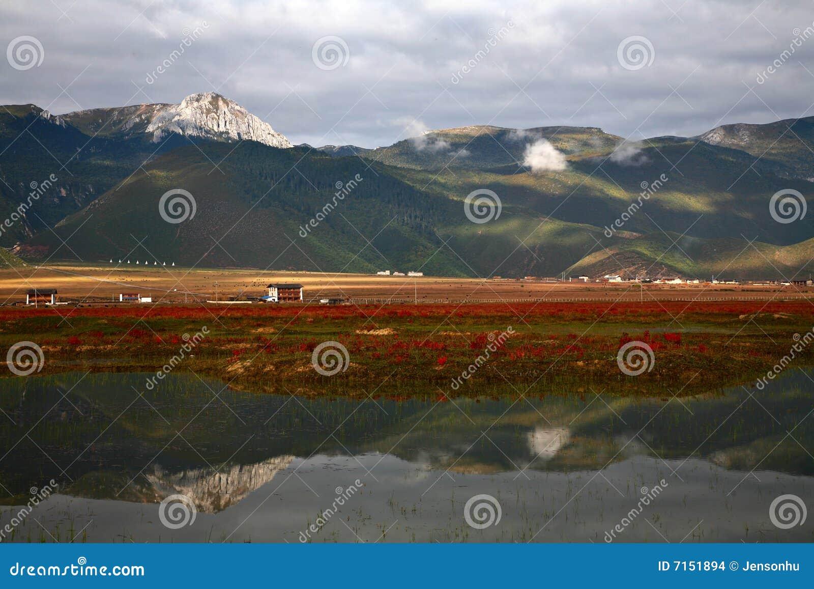 Reflexión de la montaña