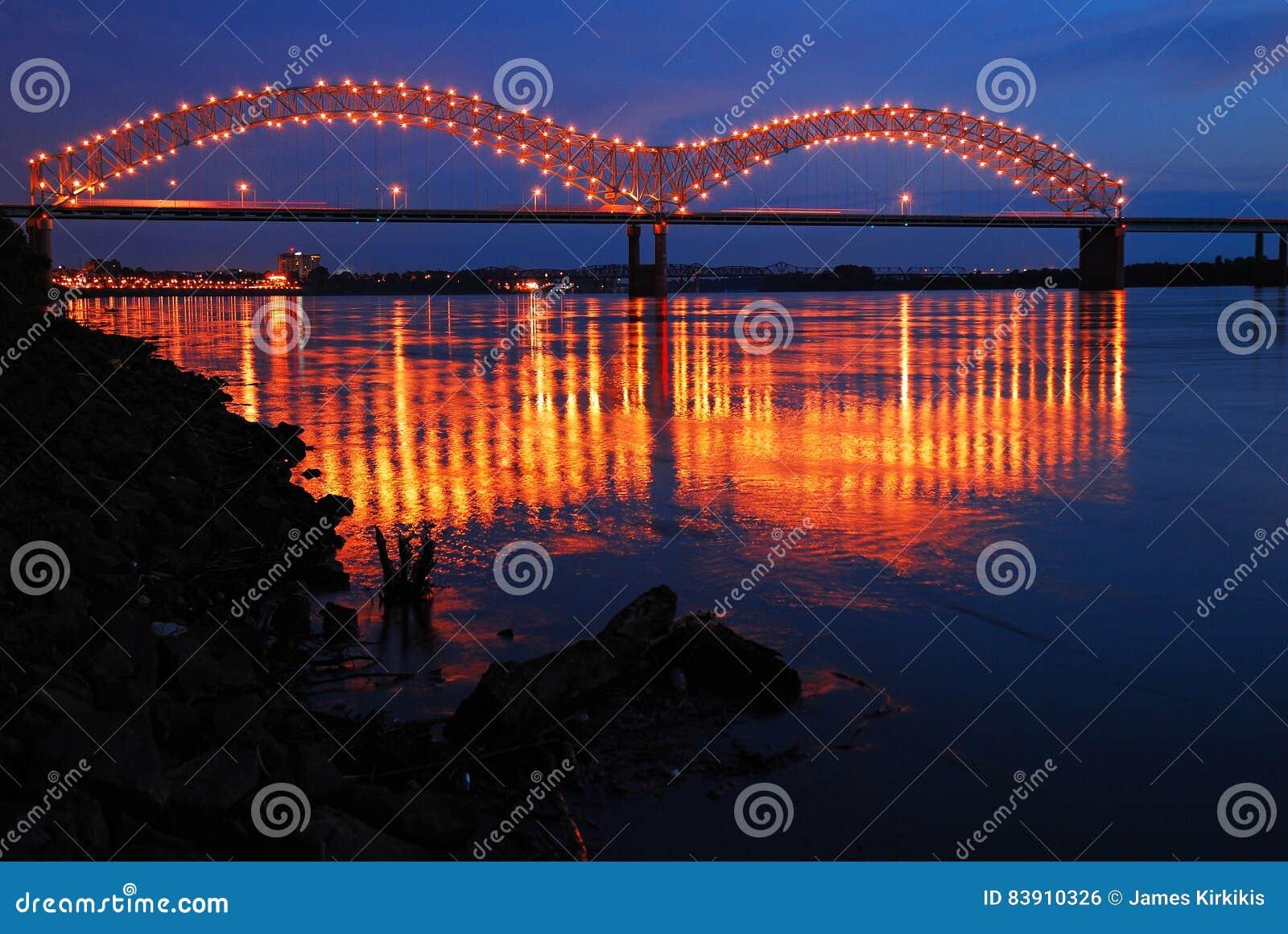 Reflexionen auf dem Fluss