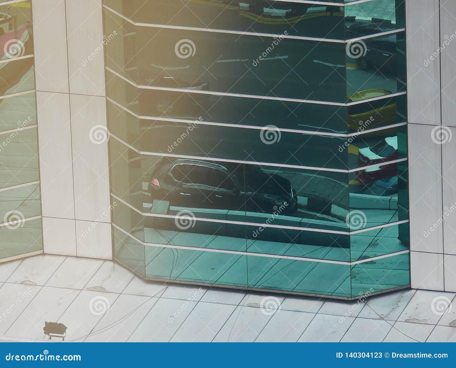 Reflexiones abstractas de edificios