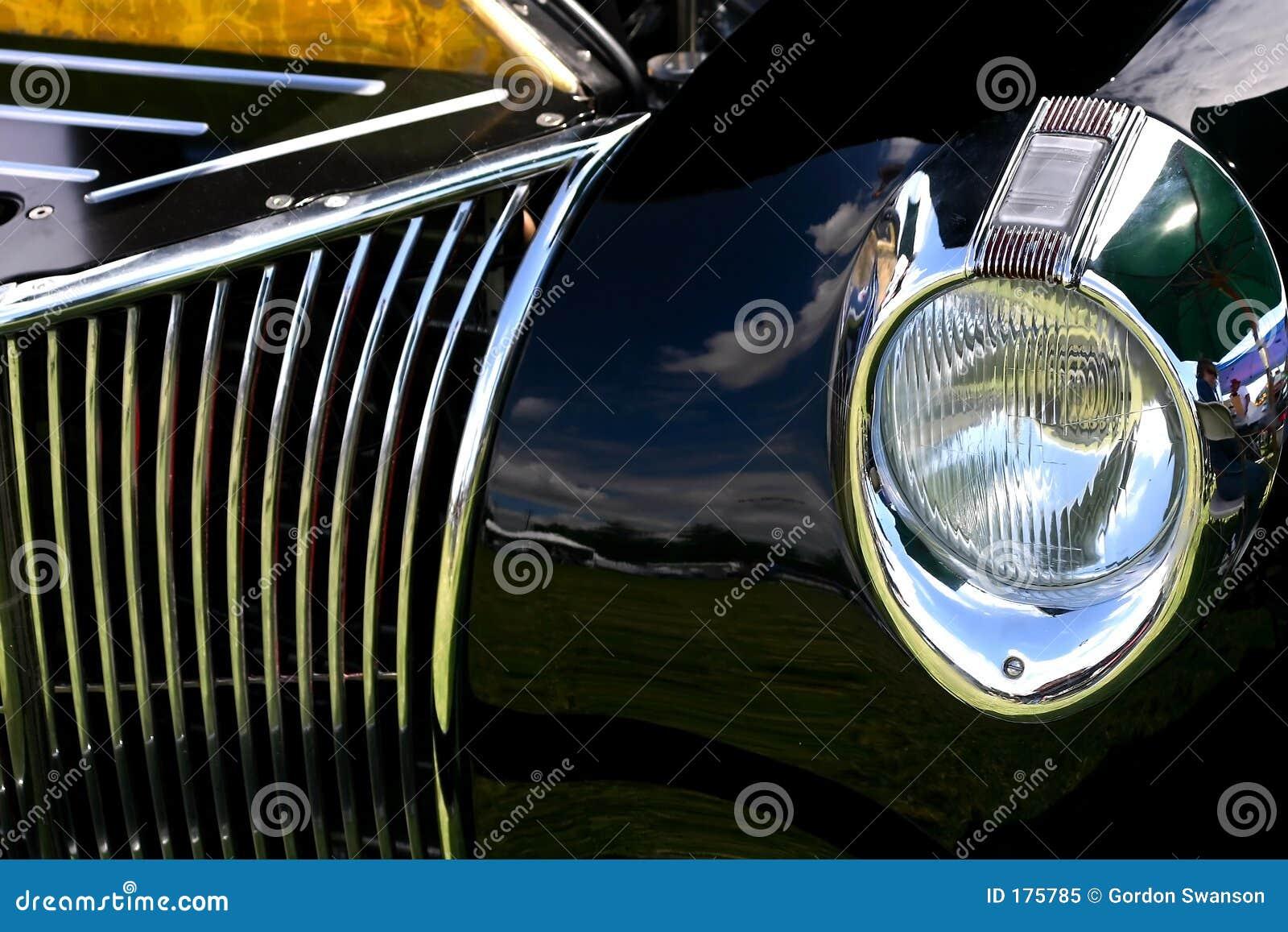 Reflexiones de la demostración de coche