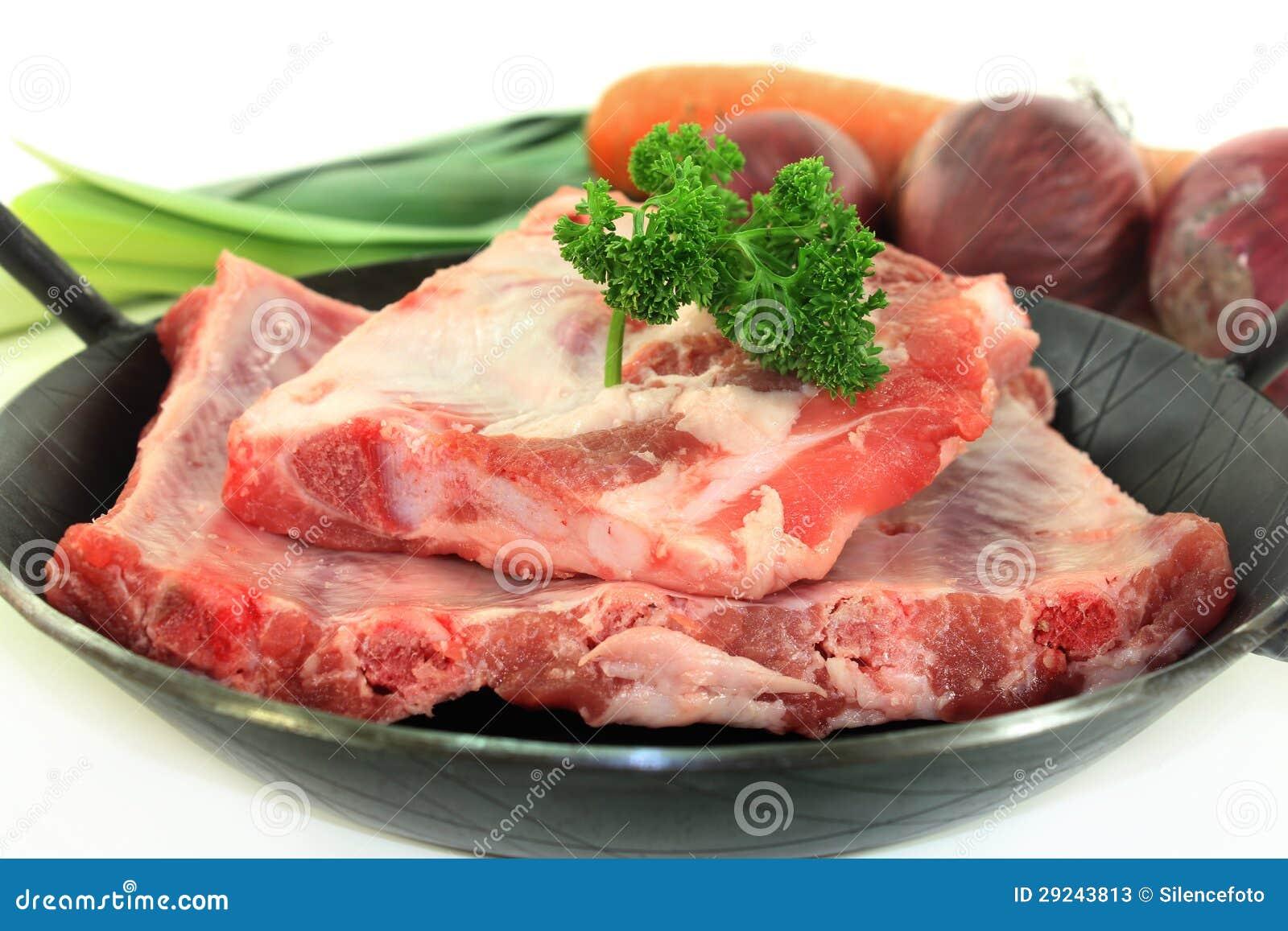 Download Reforços De Reposição Da Carne Imagem de Stock - Imagem de roast, pork: 29243813