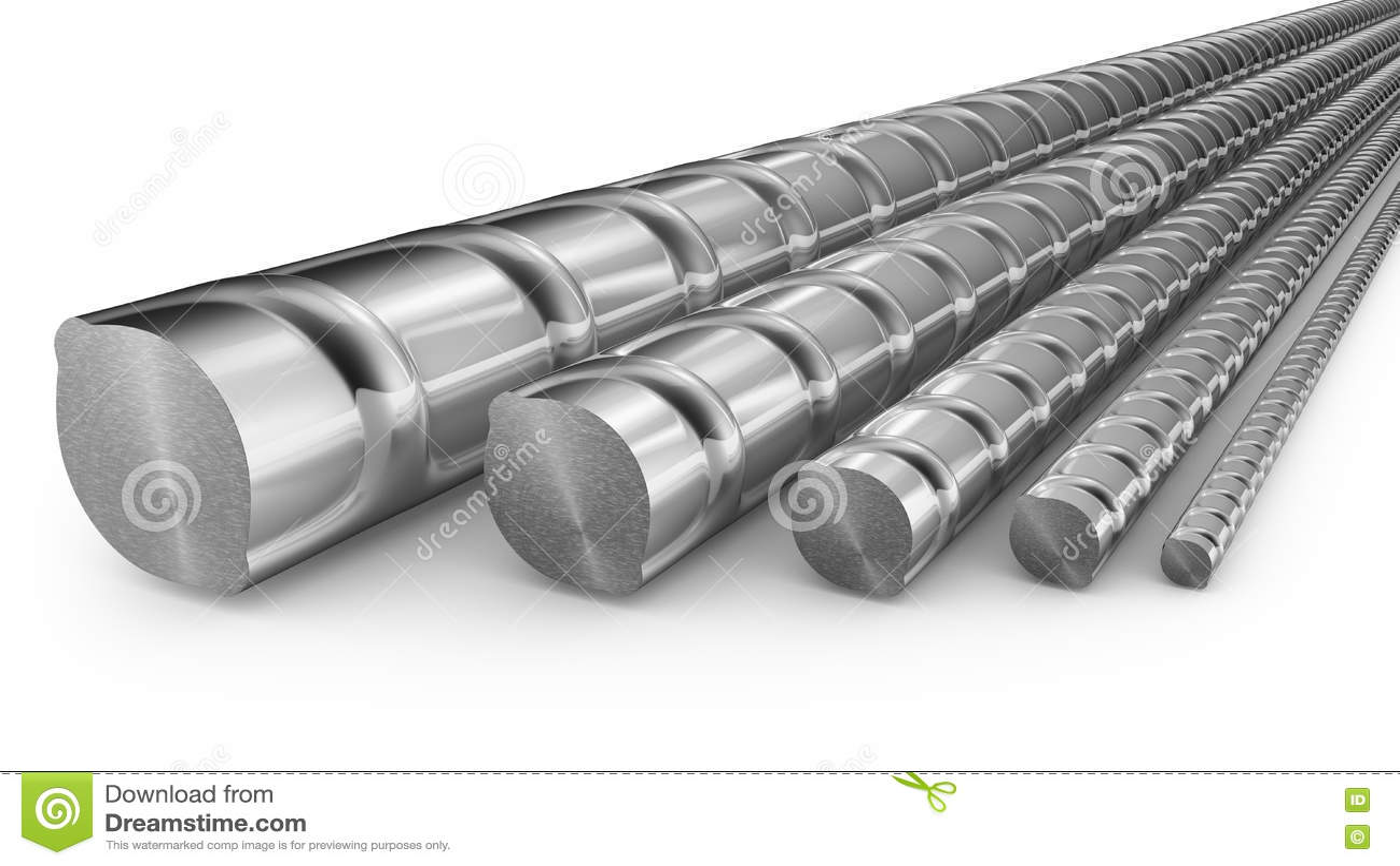 Reforços do metal