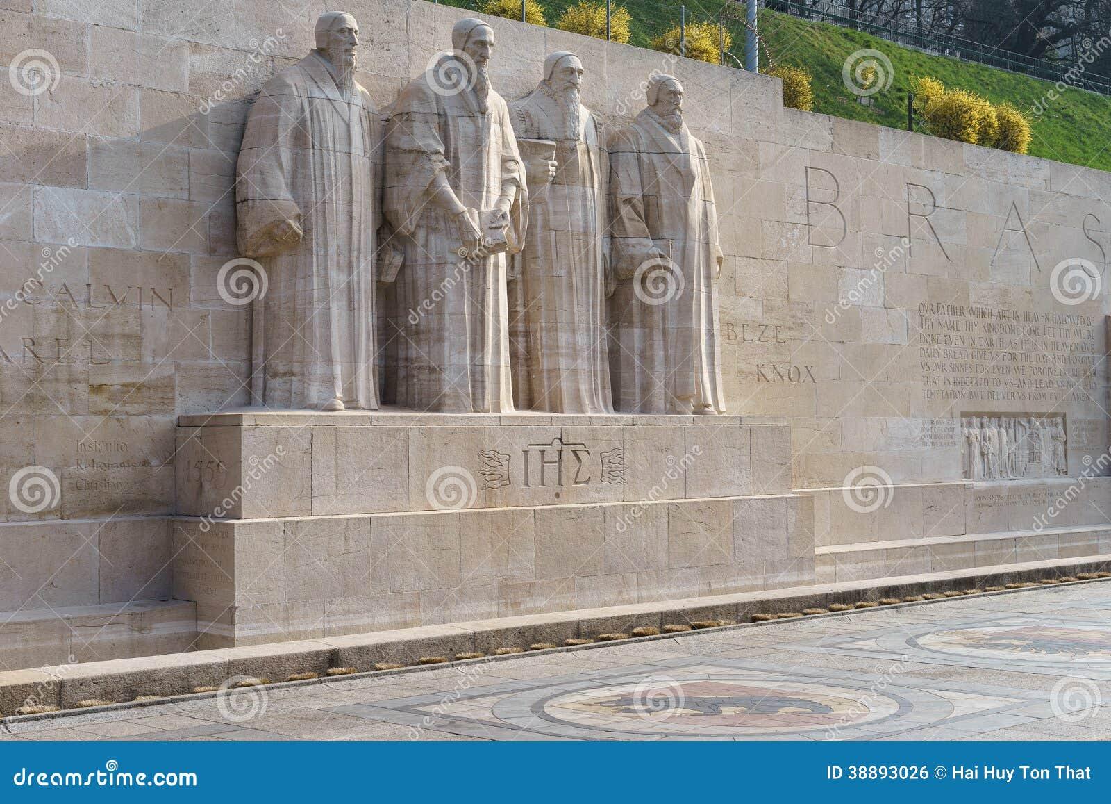 Reformation Wall In Geneva Stock Photo Image 38893026